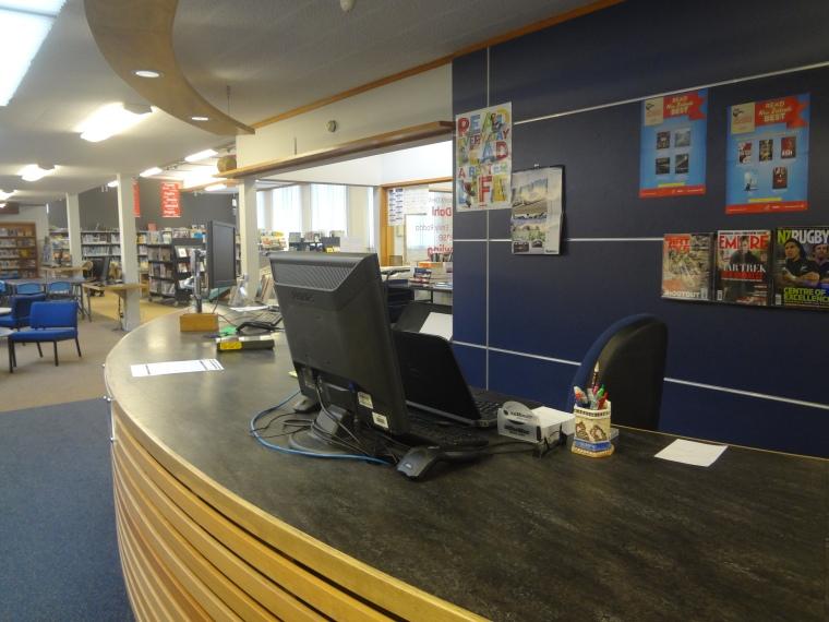 SBHS Circulation Desk