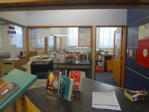 View into Library Office