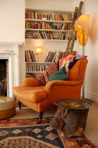 Adult reading nook