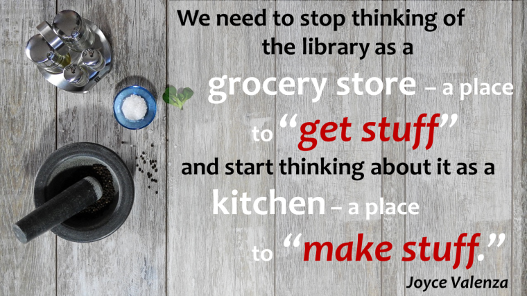 Library as a Kitchen