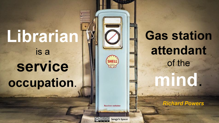Librarians Gas Attendants